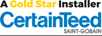 a gold star installer certainteed saint-gobain