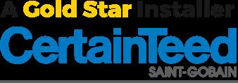 a gold star installer certainteed saint-gobain