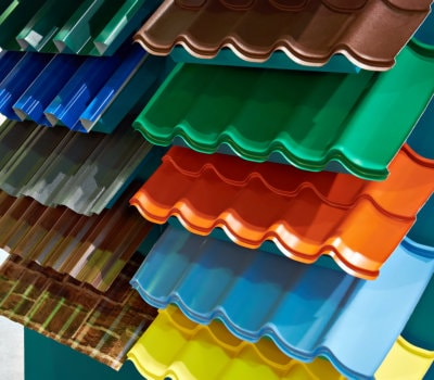 different colors of roof